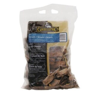 GrillPro 00201 Mesquite Flavor Wood Chunks, 5 Lbs