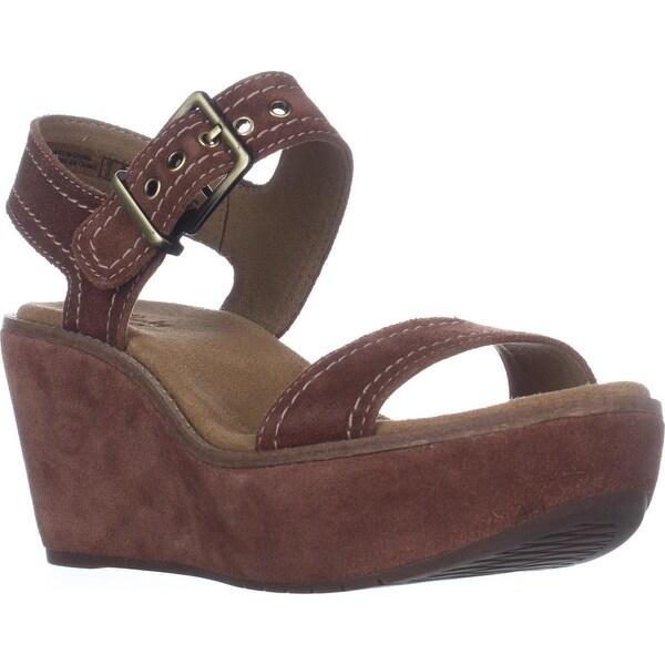 5863e071e7d8 Shop Clarks Aisley Orchid Wedge Sandals