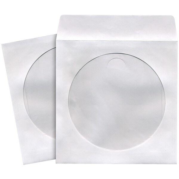 Maxell 190135 - C Cd/Dvd Storage Sleeves (50 Pk; White)