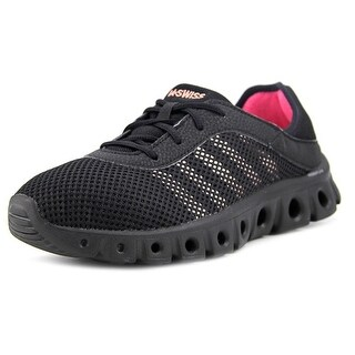 K-Swiss X lite ATHLEISURE CMF  Women  Round Toe Synthetic Black Tennis Shoe