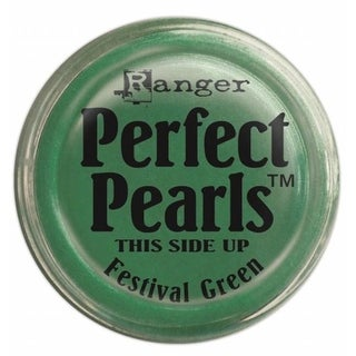 Ranger PPP-36814 Perfect Pearls Pigment Powders-Festive Green