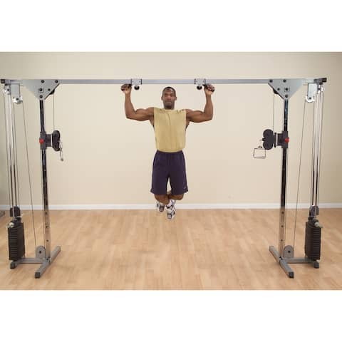 Body-Solid Lat Pull for Powerline PCCO90/X Cable Crossover - Black
