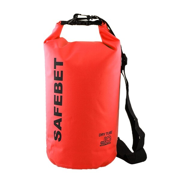 SAFEBET Authorized Water Resistant Bag Dry Sack Red 10L for Rafting Swimming cda1eb1004339