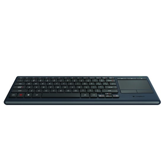 Logitech K830 Illuminated Living-Room Wireless Touchpad Keyboard For Internet-Connected Tvs (Bluetooth & Wireless Usb Ke