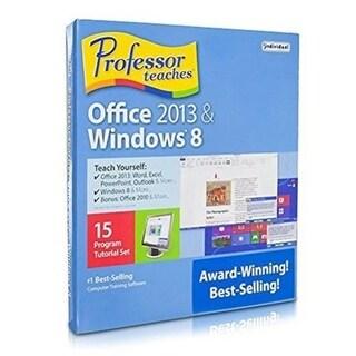 Individual Software 297040 Professor Teaches Office 2013 & Windows 8