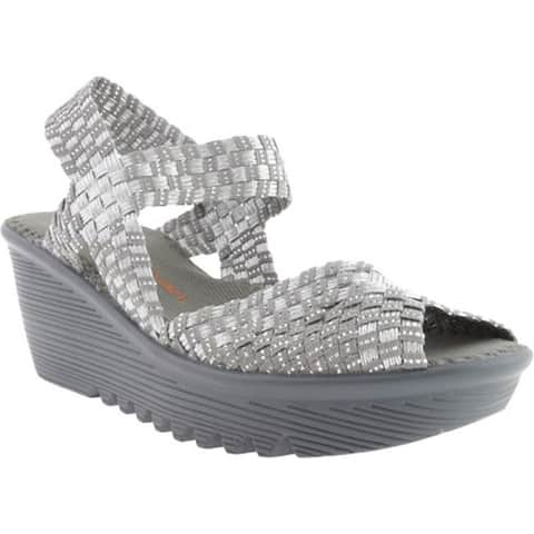 Bernie Mev Women's Fame Silver Grey