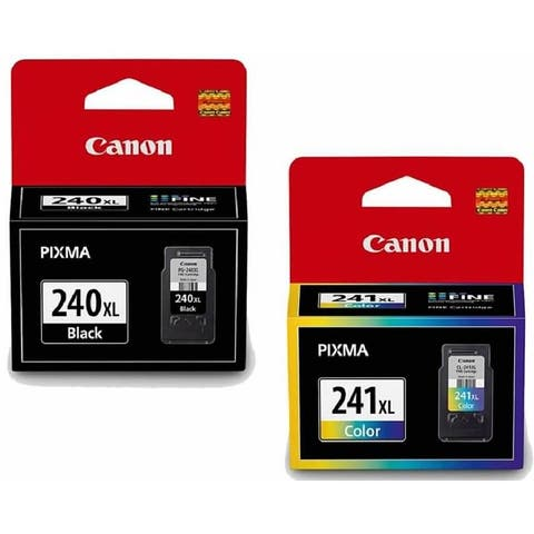 Canon PG-240XL/CL-241XL Black & Color Ink Cartridge Combo