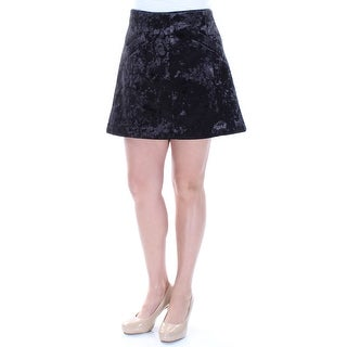 Womens Black Casual Skirt Size 12