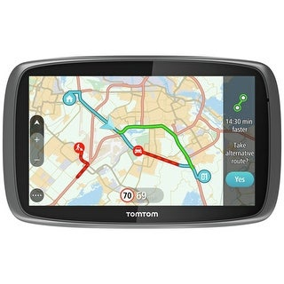 TomTom GO 60S 6-inch GPS compirable to Garmin DriveSmart 60LMT w/ Lifetime Map & Traffic Updates
