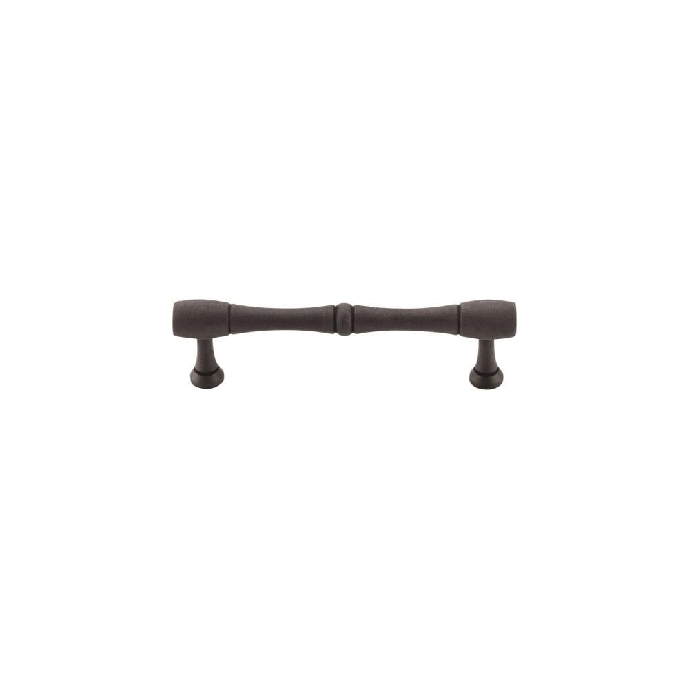 Top Knobs M794-96  Nouveau 3-3/4 Center to Center Appliance Pull from the Appliance Collection - Patina Rouge