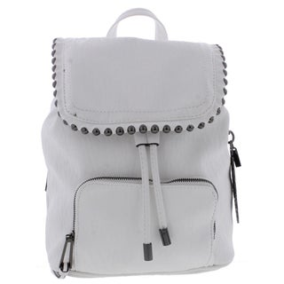 Jessica Simpson Womens Camile Backpack Faux Leather Studded Trim