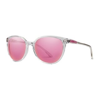 Smith Optics Sunglasses Womens Cheetah Crystal Pink Mirror CTPC - crystal carbonic pink mirror - One size