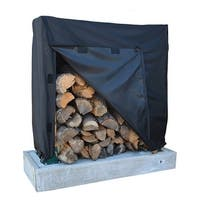 Dallas Manufacturing Co. 600D Log Rack Storage Cover - Model 4'