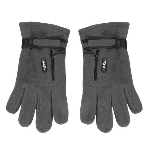 Mens Weatherproof Fleece Insulated Winter Snow Ski Gloves
