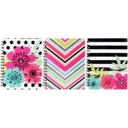 Sugarland; College Rule; Assorted Colors - Studio C Ideal Notebook 120 Sheets