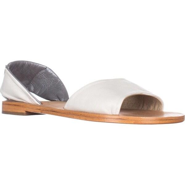 Kelsi Dagger Brooklyn Clarkson Flat Sandals, Sea Salt