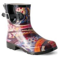 Nomad Women's Droplet Rain Boot Turquoise Monet