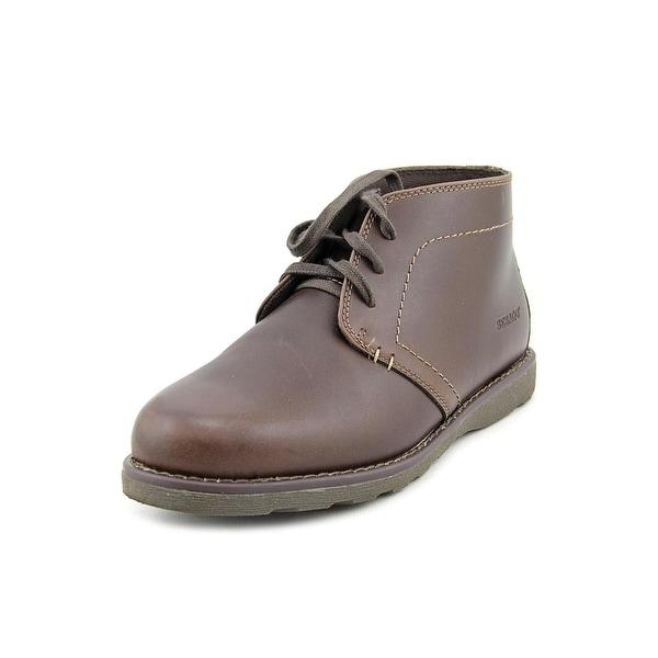Sebago Reese Chukka Round Toe Leather Chukka Boot