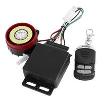 Unique Bargains DC 12V Motorcycle Anti-theft Alarm System Immobiliser Remote Engine Start Set