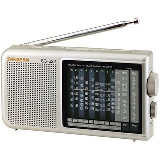 Sangean 12-band Compact World Band Receiver With Led