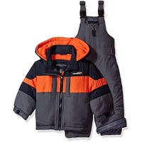 London Fog Boys 12-24 Months Snow Bib Jacket Snowsuit