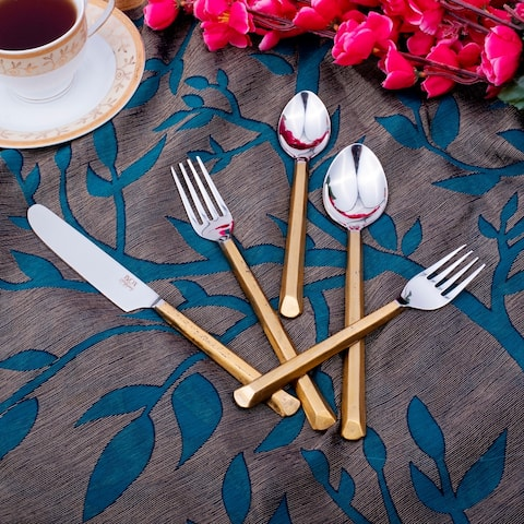 Plateau Copper Antique 5 Pc. Flatware Set
