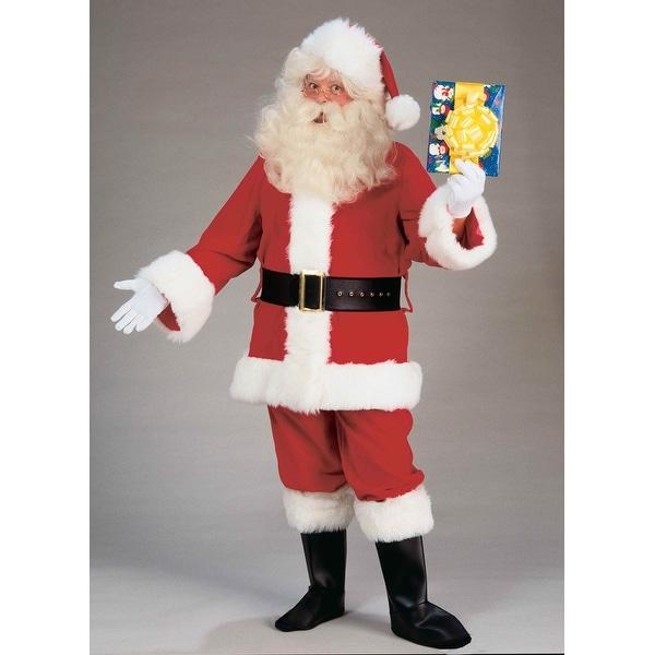 Santa Claus Adult Value Costume Suit Standard - Red