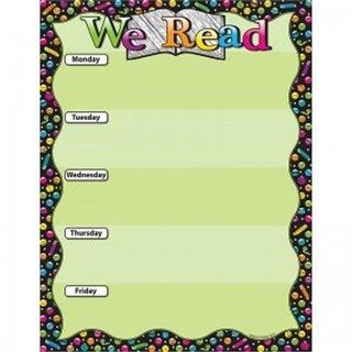 Ashley Productions We Read Emoji Smart Poly Chart, 17 x 22 in.