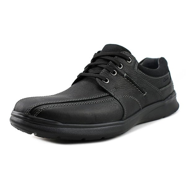 Clarks Narrative Cotrell Walk Men Bicycle Toe Leather Black Oxford