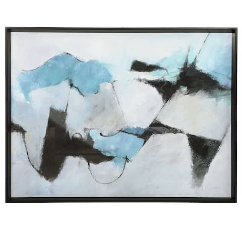 Uttermost Winter Crop Abstract Print