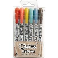 Tim Holtz Distress Crayon Set-Set #7