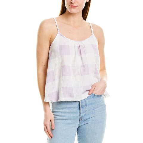 Nation Ltd Millie Swing Check Cami