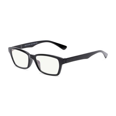 Readers.com The Brody Blue Light Reader Rectangle Reading Glasses