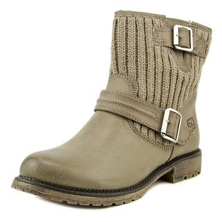 Dirty Laundry Roger That Women Round Toe Leather Boot