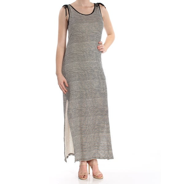 f22f706e Shop RALPH LAUREN Womens Black Striped Sleeveless Scoop Neck Maxi Shift  Dress Size: M - Free Shipping On Orders Over $45 - Overstock - 27764865