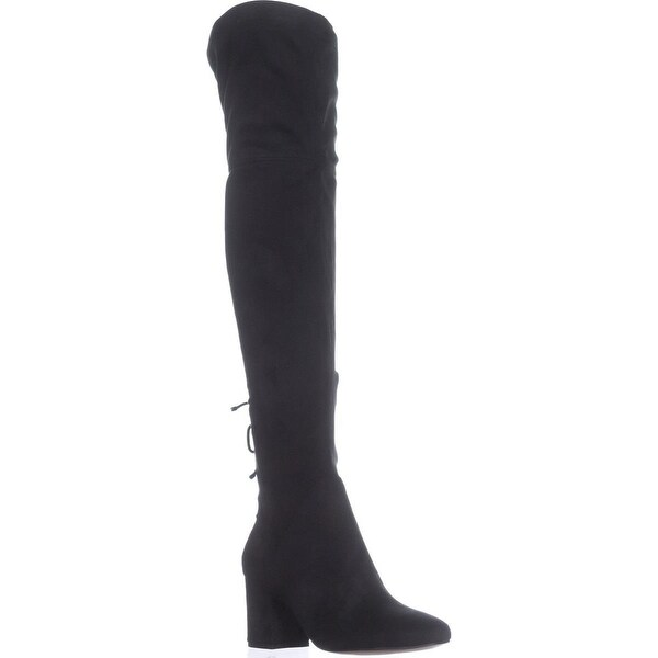 Aldo Adessi Over The Knee Boots, Black