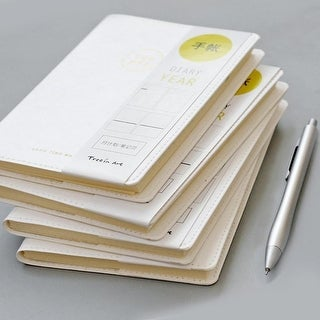 G Home Collection White Cover Modern Notebook Set of 2