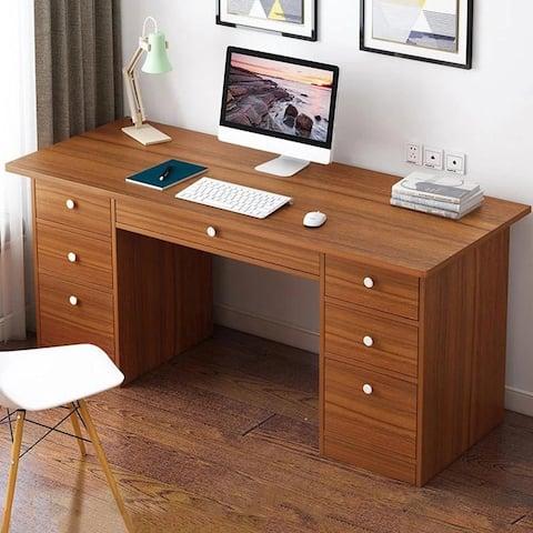 7-drawer Compuer Writing Desk