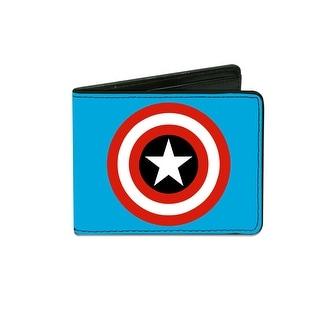 Buckle Down Kids' Marvel Captain America Billfold Wallet - captain america - One Size