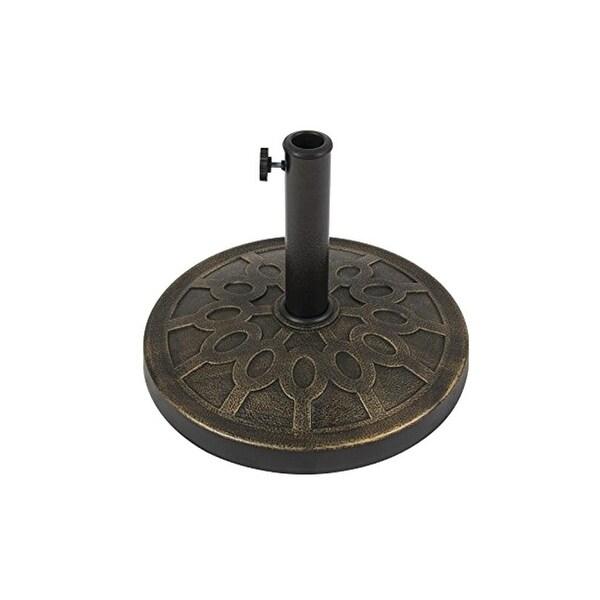 Seasonal Trends 69328 Essential Umbrella Base, Bronze , 12 kg