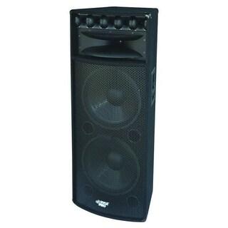 """Pyle Pro Dual 15"""" DJ Cabinet"""