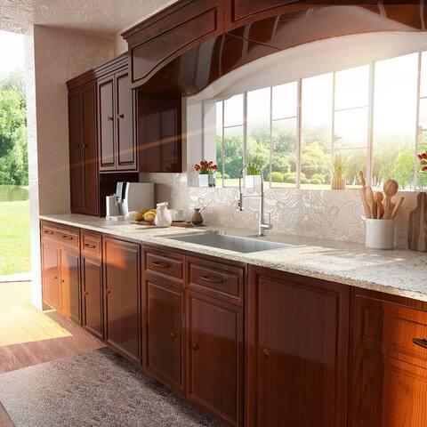 Lordear 27 inch Undermount Kitchen Sink Stainless Steel Single Bowl Kitchen Sink