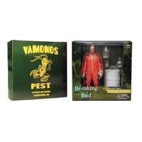 """Breaking Bad 6"""" Walter White In Orange Haz-Mat Suit Exclusive Figure"""