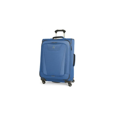 """Travelpro Maxlite 4 - Blue 25"""" Polyester Fabric Expandable Spinner w/ Water Resistant Coating"""