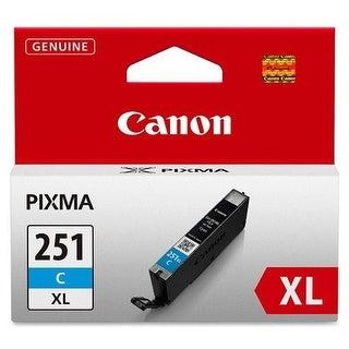 Canon 6449B001 Cli Original Ink Cartridge, Cyan