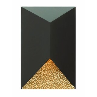 "Hinkley Lighting 2184 12"" Height 1 Light Dark Sky Outdoor Wall Sconce from the Vento Collection"