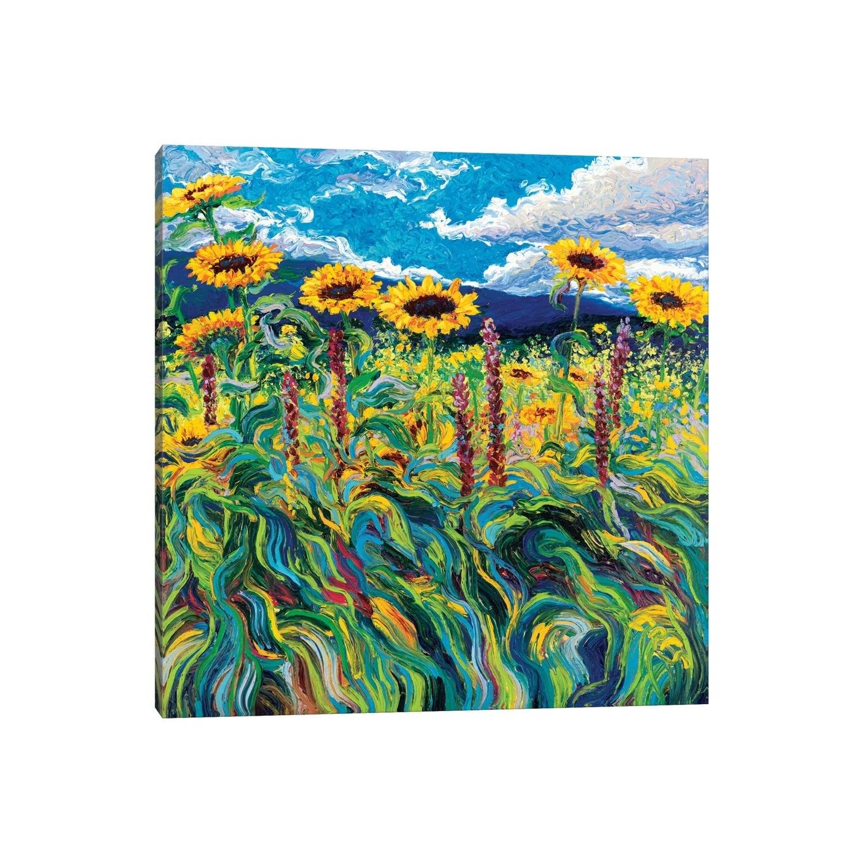 Icanvas Foxy Triptych Panel Iii By Iris Scott Canvas Print Overstock 25642670