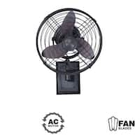 "Craftmade Faraday Faraday 14"" 3 Blade (Included) Indoor Wall Mount Fan"