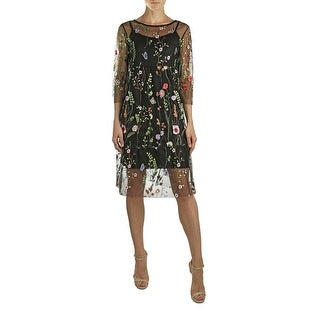Kotore by Lola Melody Floral Embroidered Dress-Made in Italy. (2 options available)