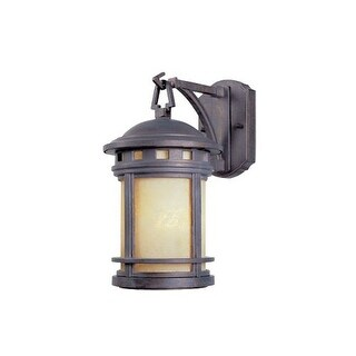 """Designers Fountain 2371-AM-MP 1 Light 7"""" Cast Aluminum Wall Lantern from the Sedona Collection"""